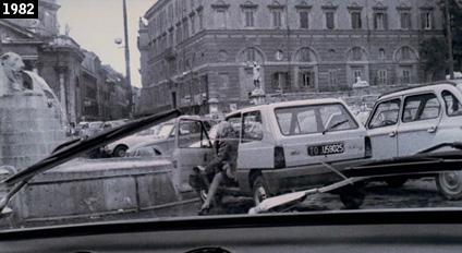 """Monica Vitti pedinata da un'investigatore privato in """"Io so che tu sai che io so"""", film diretto e interpretato da Alberto Sordi (www.davinotti.com)"""