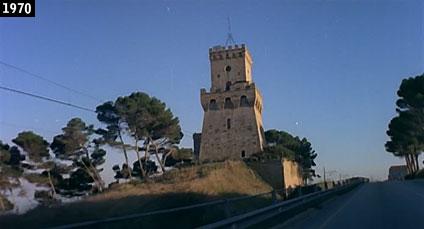 """Pineto, la Torre di Cerrano vista nel film """"Nelle pieghe della carne"""" (www.davinotti.com)"""