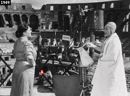 """""""Totò cerca casa!"""" nientemento che all'interno del Colosseo (www.davinotti.com)"""
