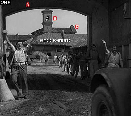 Scena di Riso amaro girata presso la Tenuta Selve di Salasco (www.davinotti.com)
