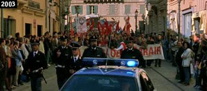 """Scena del film ''Il posto dell'anima"""" girata nel centro storico di Vasto (www.davinotti.com)"""
